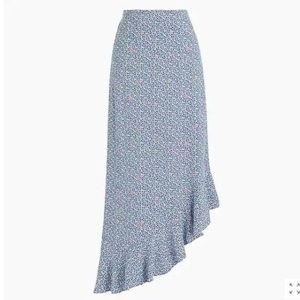 J crew asymmetrical skirt